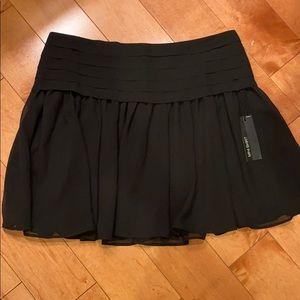 EXPRESS Design Studio Black Mini Skirt